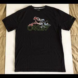 Oakley Hydrolix Frog Graphic T-Shirt Sz Large